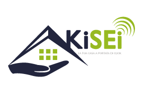 kisei.info | Logo KiSEi email Woo Commerce bianco inclinato dx