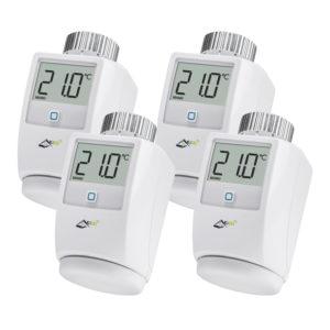 www.Kisei.info | Teste termostatiche intelligenti multipack clima 4 KiSEi